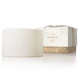 Frasier Fir Ceramic 3-Wick Candle | Fresh Scent | Thymes