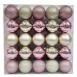 50ct Ornament Set 70mm Blush/Champagne - Wondershop™   Target