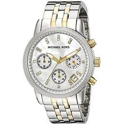 Michael Kors MK5057 Women's Two Tone Chronograph Watch | Amazon (US)