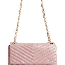 Rebecca Minkoff Edie Flap Front Leather Shoulder Bag   Nordstrom
