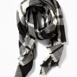 Flannel Blanket Scarf for Women | Old Navy US