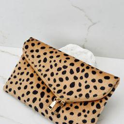 No New Tricks Cheetah Clutch | Red Dress