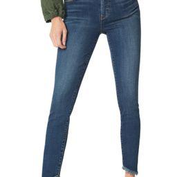 Sam Edelman The Kitten Frayed Ankle Skinny Jeans (Heidi)   Nordstrom