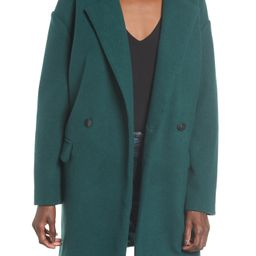 Leith Oversize Double Breasted Coat   Nordstrom