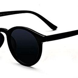 Kelens Vintage Retro Horn Rimmed Round Circle Sunglasses UV400 Protection   Amazon (US)