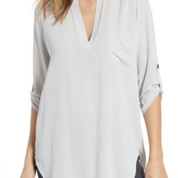 Perfect Roll Tab Sleeve Tunic   Nordstrom