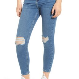 Topshop Jamie Ripped Jeans | Nordstrom