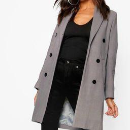 Double Breasted Coat | Boohoo.com (US & CA)