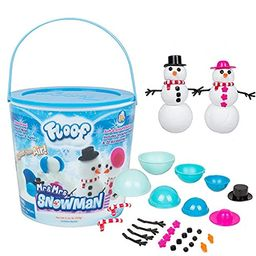 Floof Modeling Clay - Reuseable Indoor Snow - Mr. & Mrs Snowman Set With Endless Creations and 22 Mo   Amazon (US)