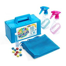 Color My Worlds Sand and Snow Coloring Kit Snow Toy Kids Toy Build a Blue Snowman Make Rainbow Snowb   Amazon (US)