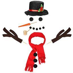 Colovis 16Pcs Snowman Decorating Kit, Snowman Making Kit Winter Party Kids Toys Christmas Holiday De   Amazon (US)