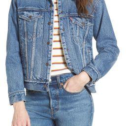 Levi's® Ex-Boyfriend Fleece Lined Denim Jacket | Nordstrom
