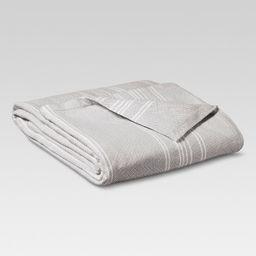 Yarn Dye Stripe Ringspun Cotton Blanket - Threshold™ | Target