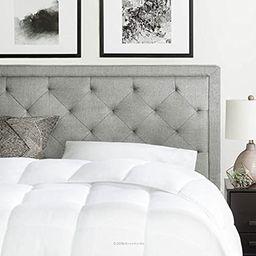 Brookside Upholstered Headboard with Diamond Tufting - King/California King - Stone | Amazon (US)