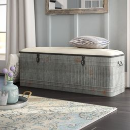 Dublin Upholstered Storage Bench | Wayfair North America