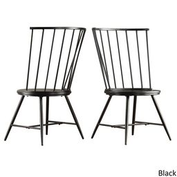 Truman High Back Windsor Classic Dining Chair (Set of 2) by iNSPIRE Q Modern | Overstock