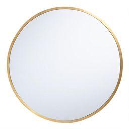Sana Brass Mirror | World Market