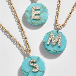 Chromatic Initial Pendant Necklace | BaubleBar (US)