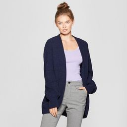 Women's Pointelle Chenille Cocoon Cardigan Sweater - A New Day™ | Target