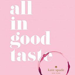 kate spade new york: all in good taste | Amazon (US)