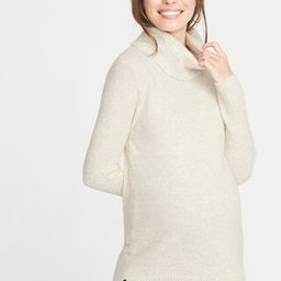 Maternity Relaxed Turtleneck Tunic Sweater | Old Navy US