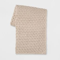 Chunky Knit Throw - Threshold™ | Target