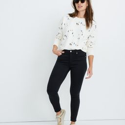 """9"""" High-Rise Skinny Jeans in Lunar Wash: Tencel™ Edition   Madewell"""