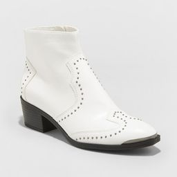Women's Sariah Faux Leather Studded Western Bootie - Universal Thread™ | Target