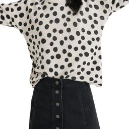 Madewell Leopard Dot Pullover Sweater | Nordstrom