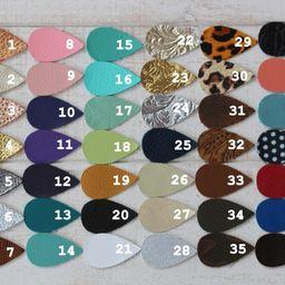Leather Earrings, Genuine Leather Earrings, Leaf Shape, Leaf Earrings, Petal, Joanna Gaines, Leather   Etsy (US)