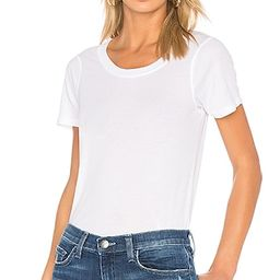 MONROW Jersey Crew Neck Tee in White | Revolve Clothing (Global)