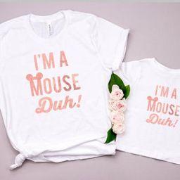 Disney shirts/ I'm a mouse duh - Disney Family shirts -Disney shirt -Minnie - Disney matching - Disn   Etsy (US)