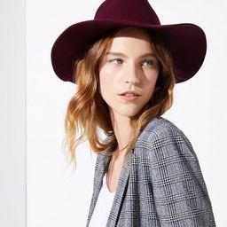Wool Fedora | LOFT | LOFT