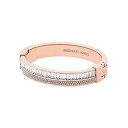 Michael Kors Metallic Pav= Crystal Hinge Bangle Bracelet   Amazon (US)