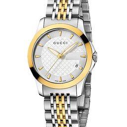 Women's Swiss G-Timeless Stainless Steel Bracelet Watch 27mm YA126511 | Macys (US)