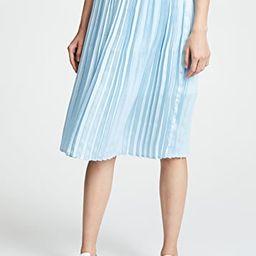 Pleated Midi Skirt   Shopbop