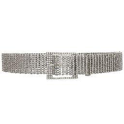 B-Low the Belt Farah Belt in Silver | Revolve Clothing (Global)