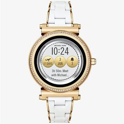 Sofie Pavé Gold-Tone and Silicone Smartwatch | Michael Kors (US & CA)