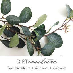 Eucalyptus, faux, eucalyptus spray, eucalyptus leaves, Silver dollar eucalyptus, faux eucalyptus, ar | Etsy (US)