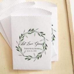 25 Wedding Seed Packets, Let Love Grow Packets, Custom Bridal Shower Packets | Etsy (US)