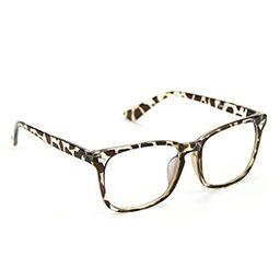 Cyxus Computer Glasses Blue Light Blocking for Women Men Gaming Eyewear Reduce Eyestrain (8082, Leop | Amazon (US)