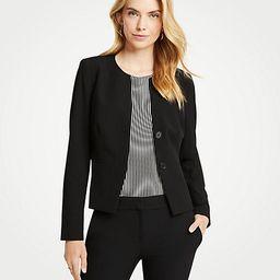 Seasonless Stretch Two Button Jacket | Ann Taylor (US)