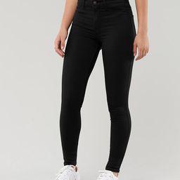 Girls Advanced Stretch High-Rise Jean Leggings   Hollister US