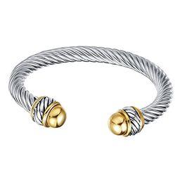 UNY Fashion jewelry Brand Cable Wire Retro Antique Bangle Elegant Beautiful Valentine Mothers day Gi | Amazon (US)