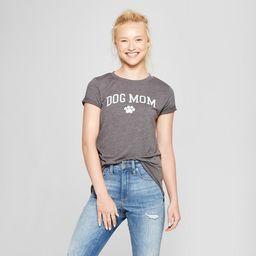 Women's Short Sleeve Dog Mom Graphic T-Shirt - Modern Lux (Juniors') | Target