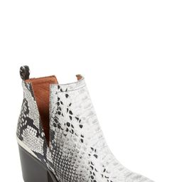 Jeffrey Campbell Cromwell Cutout Western Boot (Women) | Nordstrom