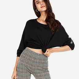 High Waisted Plaid Pull-on Leggings   Express