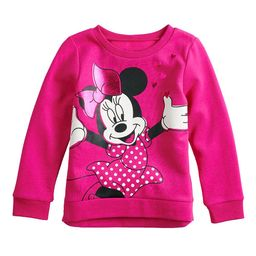Disney's Minnie Mouse Toddler Girl Softest Fleece Pullover by Jumping Beans®   Kohl's
