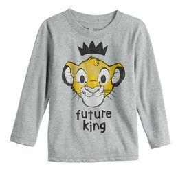 "Disney's Lion King Toddler Boy ""Future King"" Simba Graphic Tee by Jumping Beans® | Kohl's"