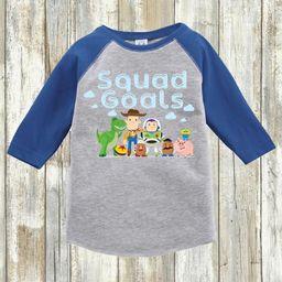Kid's Toy Story Shirt   Squad Goals   Youth Toddler Raglan   Youth & Toddler Regular Tee   Etsy (US)